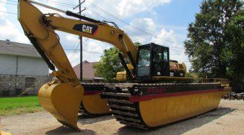 Wilson CAT 324 Amphibious Excavator